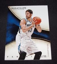 2013-14 Immaculate KEVIN LOVE #49 Yellow Foil SP/99 Cavaliers UCLA Timberwolves