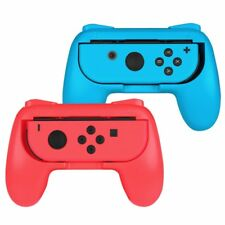[2 Pack] For Nintendo Switch Joy-Con Grips Kit Controller Handle Handheld Holder