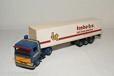 TEKNO VOLVO F10 TRUCK R. KEMPERS WITH TRAILER J.P. VIS & ZN KWINTSHEUL EXCELLENT