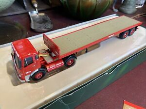Corgi CC11503 AEC Mandator Flatbed Trailer BRS Ltd Edition Complete With Mirrors