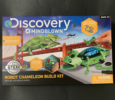 Discovery #MindBlown Robot Chameleon Build Kit Ages 12+ Interactive STEM Toy