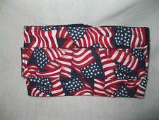 "ULTIMATE DOG Belly Bands Diaper Wrap US FLAG Med 19-23 x 6"" Reusable Washable"