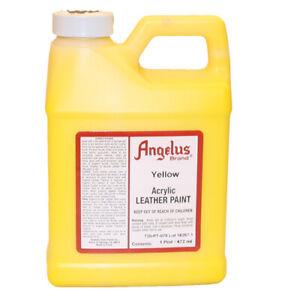 Angelus lederfarbe Gelb 472 ml (075) Acryl Lederfarbe (63,45 €/1L)