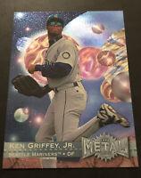 1996 Fleer Metal Universe Ken Griffey Jr. #107 Seattle Mariners HOF 🔥