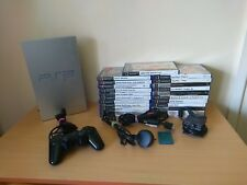 Sony Silver PS2 PlayStation 2 Console With 25 Games & EyeToy Camera