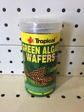 ~TROPICAL / GREEN ALGAE / WAFERS / FOOD FOR ALGAE EATERS / 113G~
