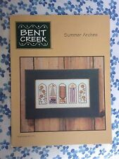 Summer Arches BC1071 Cross Stitch Pattern by Bent Creek