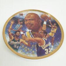 "Gartlan Usa 1989 Kareem Abdul-Jabar ""Path Of Glory"" Plate - Autographed #1977"