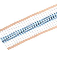 30pcs Metal Film Resistors 10 Ohm 1W 1%Tolerances 5 Color Bands