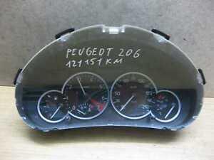 Tacho Kombiinstrument Peugeot 206  9659731180