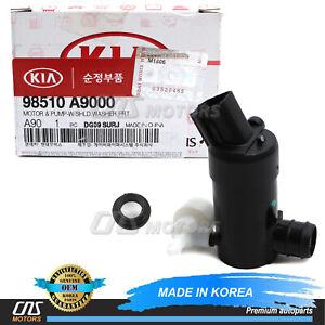 ⭐OEM⭐ Windshield Washer Pump  & Grommet for 16-21 Kia Sedona Sorento 98510A9000