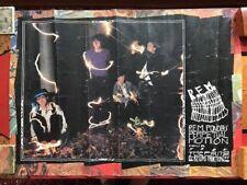 REM Ponders Perpetual Motion 1985 Conert Tour Poster
