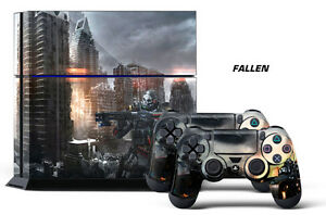 Designer Skins For PS4 Playstation 4 Console & Controller Sticker Decals FALLEN