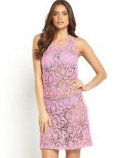 Sexy pink crochet Beach dress - PLUS SIZE 20 - BNWT beach cover up/summer