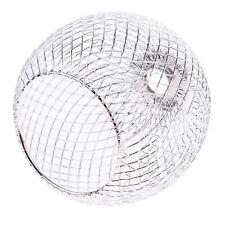 Chrome Iron Ball Ceiling Light Cover Pendant Round Lamp Shade Chandelier Modern