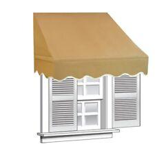 ALEKO Window Awning Door Canopy Decorator 8x2ft Sun Rain Shade Shelter Sand