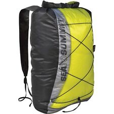 Sea To Summit UltraSil Dry Day Pack Lime Lightweight Waterproof Travel Rucksack