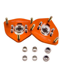 2pcs Front Coilover Camber Plate Top Mount For Nissan S13 S14 180SX 200SX 240SX