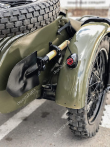 Classic Ural Shovel Kit Made of Titanium!! URAL Gear Up, Patrol, Tourist, DNEPR