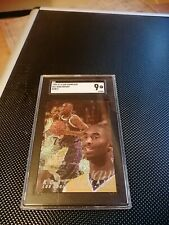 1996 Flair Showcase Kobe Bryant rookie Row0 RC SGC 9 Kobe true rookie