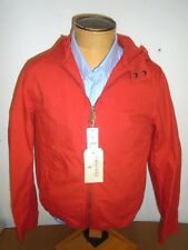 Brooks Brothers Red Fleece 100% Cotton Twill Hooded Anorak Jacket NWT Medium