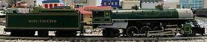 Lionel O 18018 Southern 2-8-2 Mikado upgraded to TMCC & Railsounds with OB