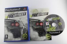 PLAY STATION 2 PS2 NEED FOR SPEED PROSTREET PRO STREET COMPLETO PAL ESPAÑA
