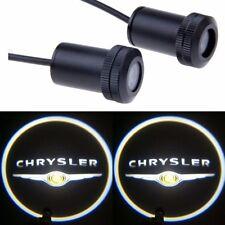 Car LED Door Light Laser Courtesy Slide Projector logo Emblem light For CHRYSLER