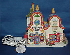 Dept 56 North Pole Series Christmas Bread Bakers #56393 W/Box
