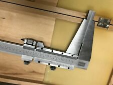 Fowler Stainless steel , Satin Chrome Finish Vernier Caliper 0 to 40 Inch