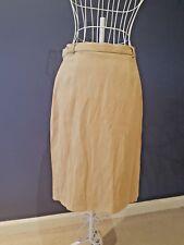 Casual Corner Women Earth Tone Velvety Pencil Skirt Size 10