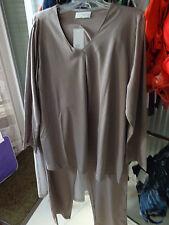 edler Pyjama Gr 46 stone Baumwolle Modal von Hutschreuther NEU