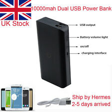 10000mah Dual USB Portable External Power Bank Battery Charger for Mobile Phone