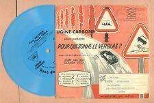 DISQUE PUBLICITAIRE - UGINE CARBONE ( GRENOBLE ) UGICARB KOMETA pour MICHELIN