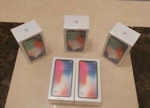 New Apple iPhone X Unlocked Sim Free Smartphone Various Colours 64GB UK Free P&P
