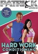 PATRICK GOUDEAU HARD WORK CONDITIONING EXERCISE DVD NEW SEALED WORKOUT FITNESS