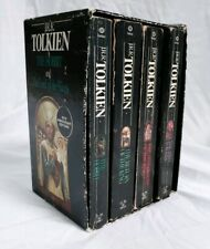 Lord of the Rings The Hobbit 50th Anniversary Books LOTR JRR Tolkien