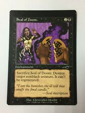 Seal of Doom FOIL Nemesis NM Black Common MAGIC THE GATHERING CARD ABUGames