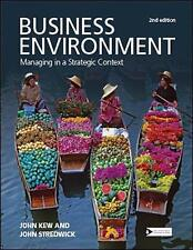 Business Environment: Managing in a Strategic Context-ExLibrary