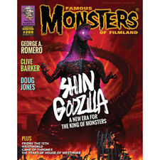 Famous Monsters of Filmland Issue #289 October 2017 Annual Godzilla Cover VF-NM