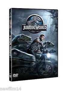 JURASSIC WORLD DVD MUNDO JURASICO NUEVO ( SIN ABRIR ) PARQUE