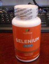 Selenium nutrissa 200mg 100 veggie capsules