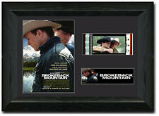 Brokeback Mountain 35 mm Film Cell Stunning display Framed Jake Gyllenhaal Heath