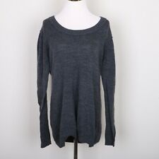 GAP Maternity  Sweater Shirt Women's XL Long Sleeve Gray Wool