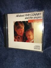 Sealed RAY CONNIFF AND THE SINGERS All About 1979 JAPAN CD 35DP-85