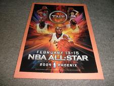 Original LEBRON JAMES_KOBE BRYANT TNT NBA ALL -STAR PHOENIX  AD-2009