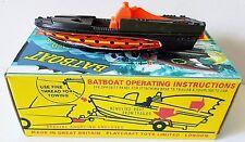 CORGI Toys Batman Diecast 107 Glastron BATBOAT on Custom Gloss Repro Box [b]