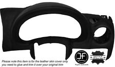 BLACK STITCH SPEEDO DASH INSTRUMENT TRIM SKIN COVER FITS JEEP CHEROKEE KJ 01-06