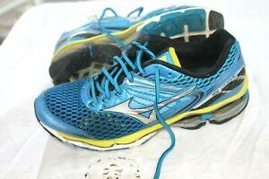 Mizuno Wave Creation 17 SZ 9 Mens Running Shoes UK 8 EUR 42 SNEAKERS ROYAL BLUE