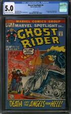 Marvel Spotlight #6 CGC 5.0 (OW-W) 2nd appearance of Ghost Rider